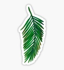 210x230 Palm Leaf Drawing Stickers Redbubble