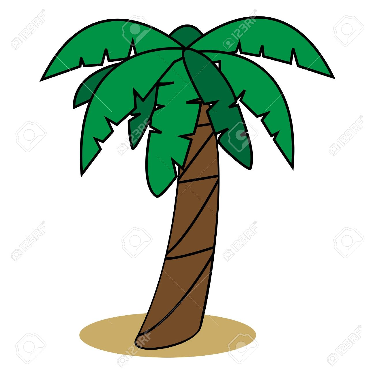 1300x1300 Cartoon Palm Tree Stock Photos Images, Royalty Free Cartoon Palm