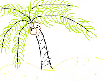 350x275 How To Draw How To Draw A Palm Tree Easy
