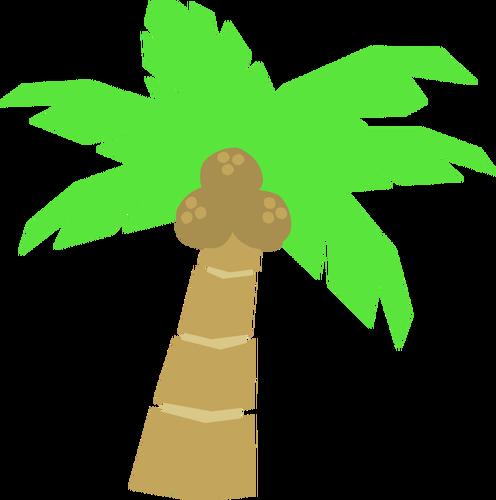 496x500 Palm Tree Drawing Public Domain Vectors