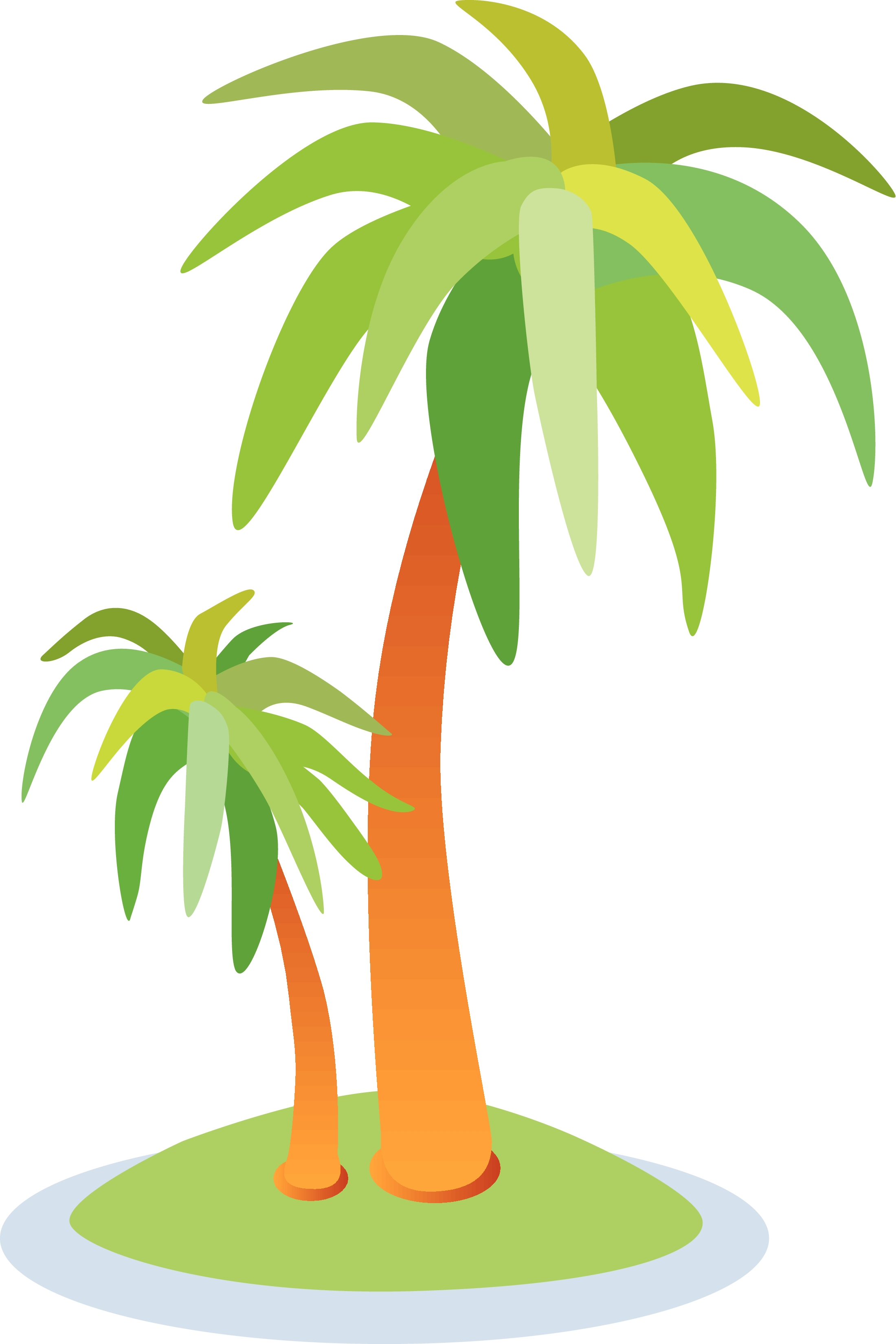 2200x3300 Simple Drawing Of A Palm Tree Trees Tree Outline Clip Art Free