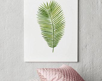 340x270 Palm Leaf Drawing Etsy