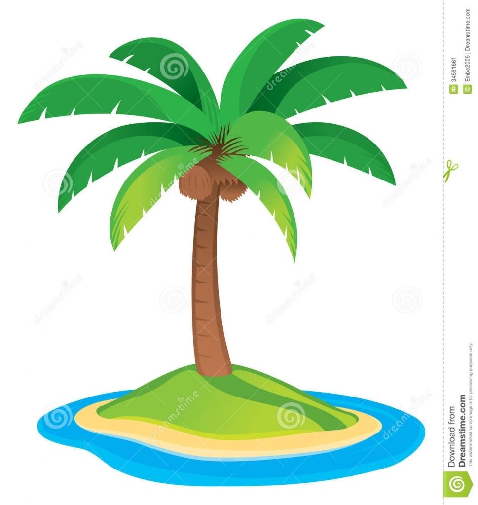 969x1024 Palm Tree Drawing Palm Tree Stock Image Image 34561661