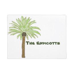 260x260 Palm Trees Doormats Amp Welcome Mats