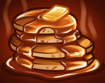 350x277 How To Draw How To Draw Pancakes