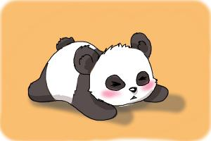 300x200 How To Draw A Baby Panda