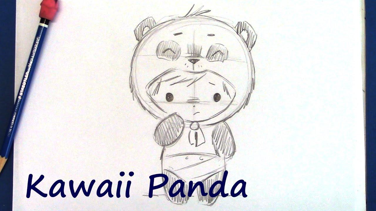 1280x720 How To Draw A Manga Panda Bear