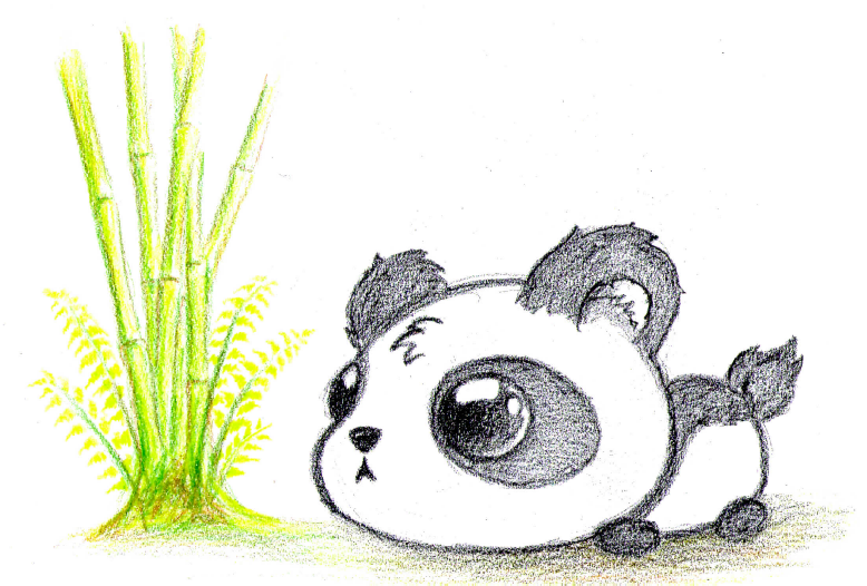 Panda Bears Drawing at GetDrawings.com | Free for personal use Panda ...