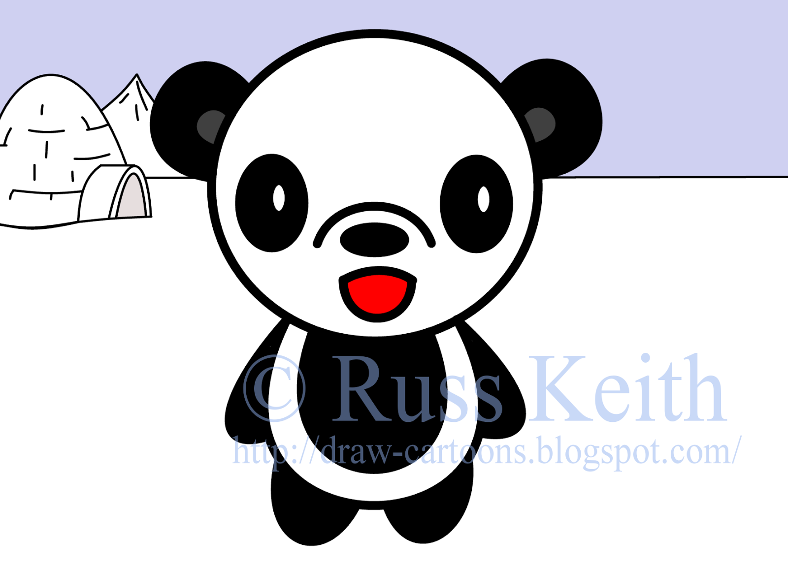 1600x1154 How To Draw Cartoons Panda
