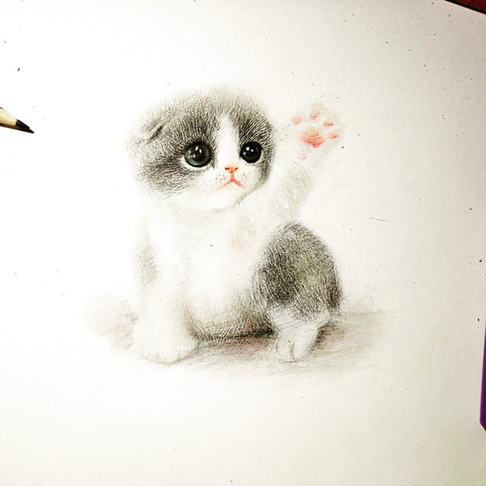 700x700 I Draw Furry Adorable Animals To Cure Unhappiness Bored Panda
