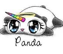 215x185 No Es El Caso Pero Es Muy Cute Pandas Rainbow
