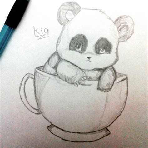 474x474 Panda Cute Drawing On Instagram, Draw Pandas