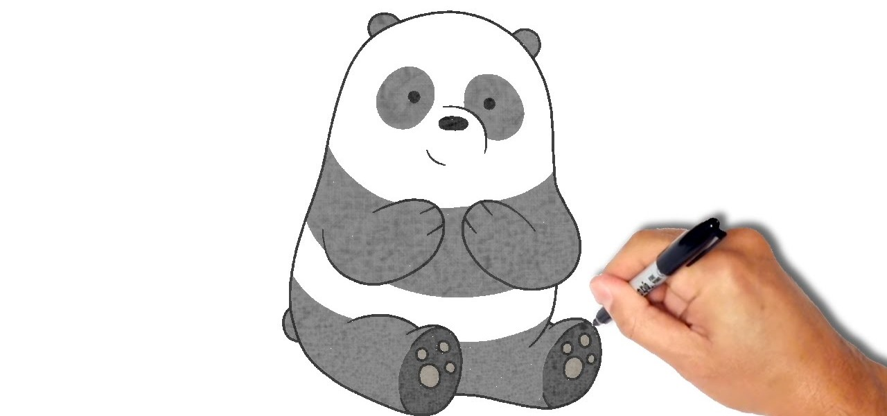 1280x600 How To Draw And Paint Panda Drawing Amp Illustration Wonderhowto