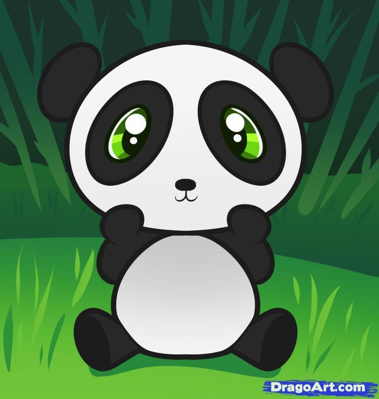 Panda Drawing Cartoon At Getdrawings Com Free For Personal Use