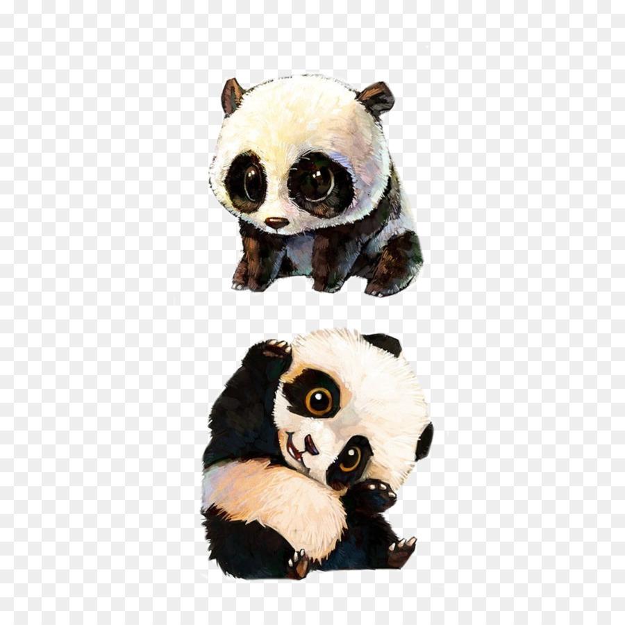 900x900 Giant Panda Red Panda Bear Baby Pandas Drawing