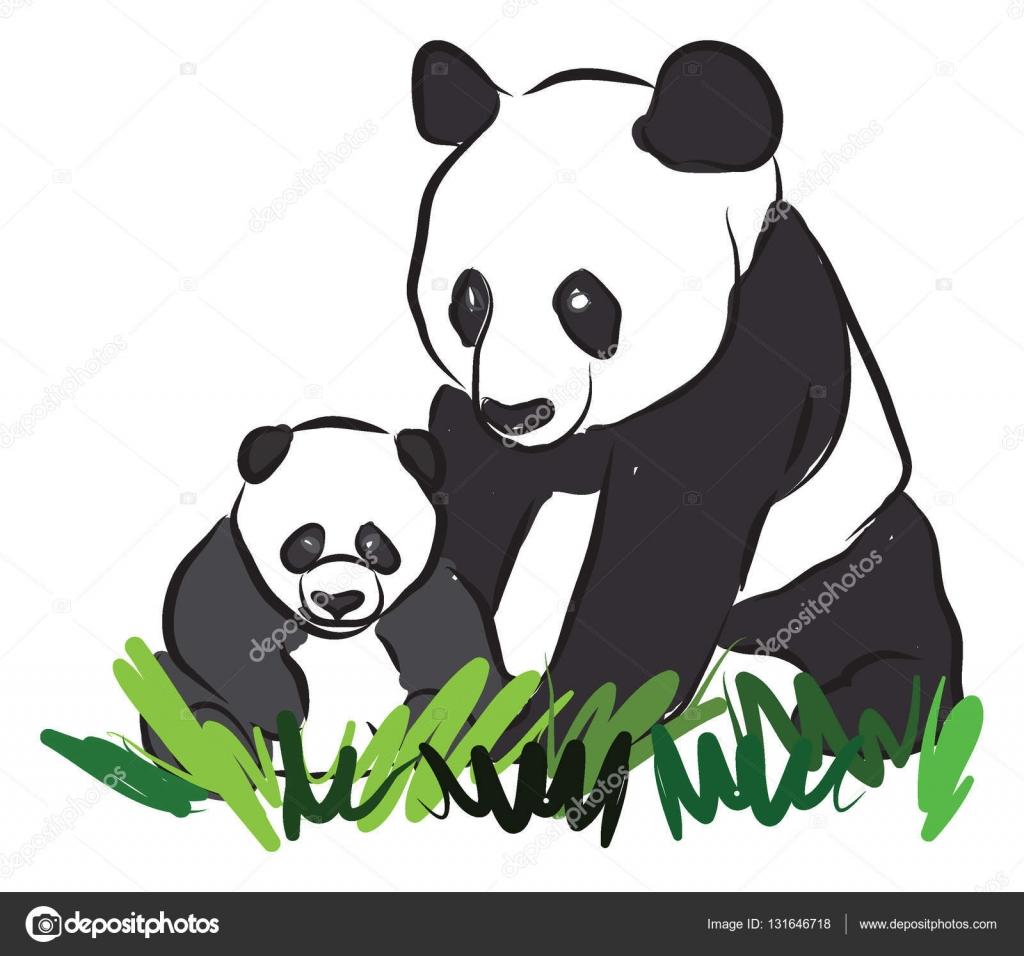 1024x956 Pandas Drawing