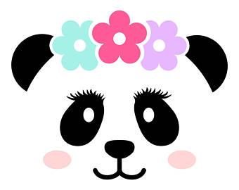 340x270 Panda Face Etsy