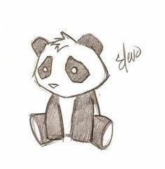 236x242 Cute Panda Drawings In Pencil