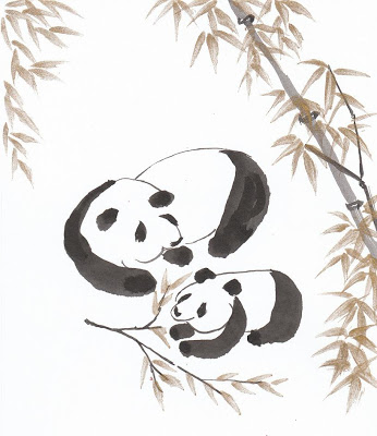346x400 As I Draw Them Revisiting Pandas, Drawing Wise