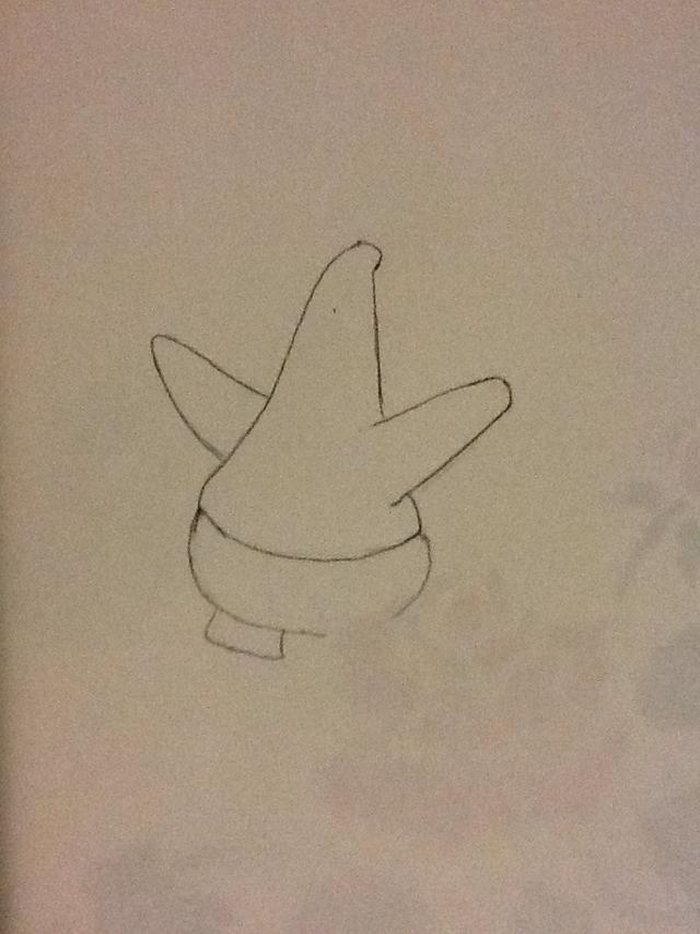 640x853 How To Draw Patrick Star