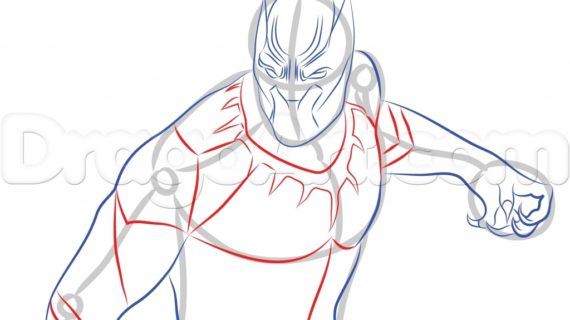 570x320 How To Draw A Panther How To Draw The Carolina Panthers Logo
