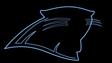 382x215 How To Draw Carolina Panthers Logo, Super Bowl, Football, Easy