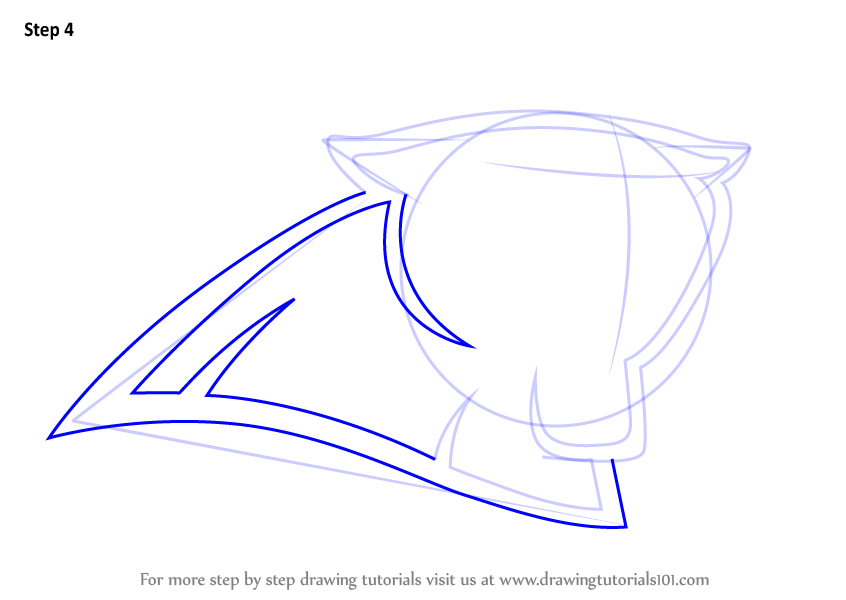 846x600 Learn How To Draw Carolina Panthers Logo (Nfl) Step By Step