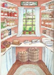 191x263 Drawing Of An Old Farmhouse Pantry Perfect Suburbia