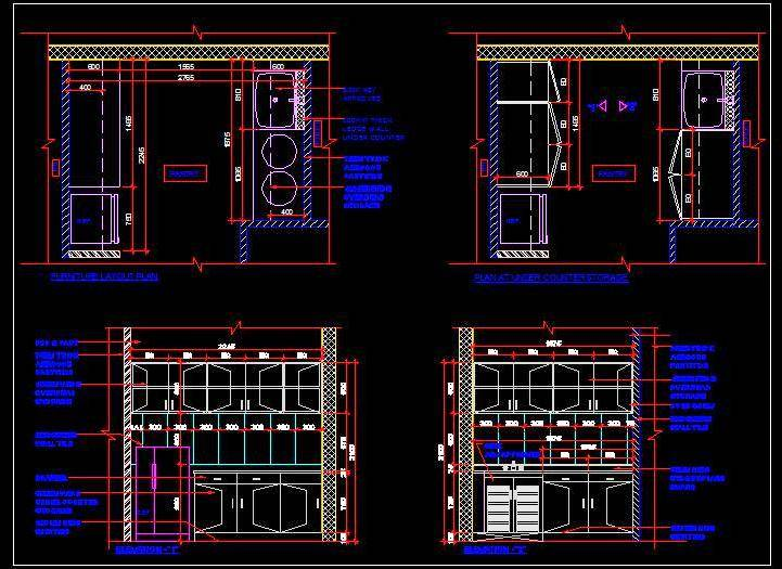 721x525 Pantry Drawing Plan N Design