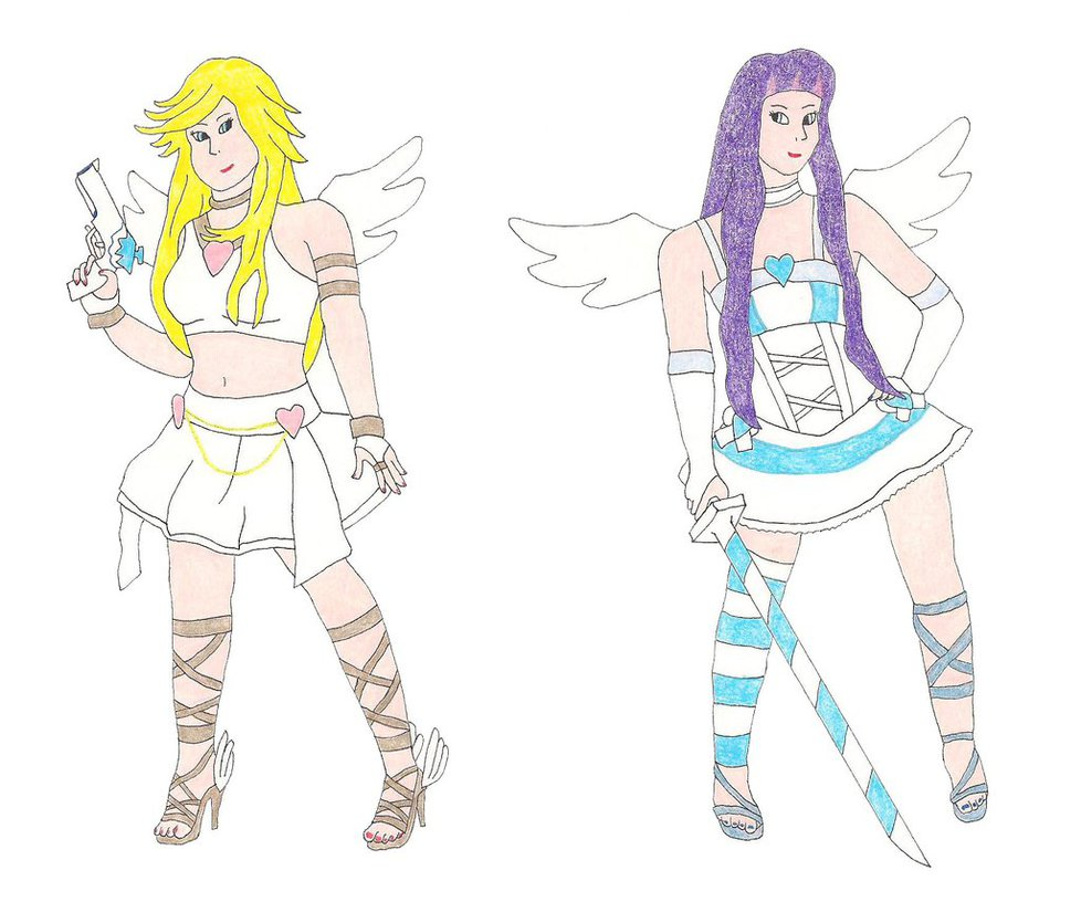 978x816 Panty And Stocking Angel Forms By Doctorevil06