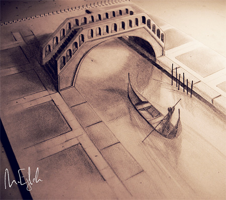 450x398 Incredible Pencil Drawings By Talented Syrian Artist Muhammad