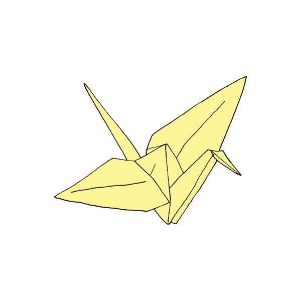 600x600 Paper Crane Paper Cranes, Drawing Designs And Illustrations