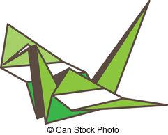241x194 Paper Crane. Origami Crane Vectors