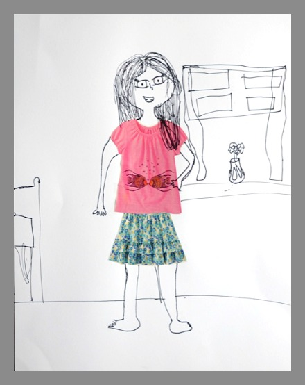 440x554 Catalog Paper Doll Drawing Project