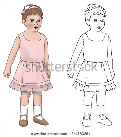 paper doll drawing at getdrawings com free for personal use paper