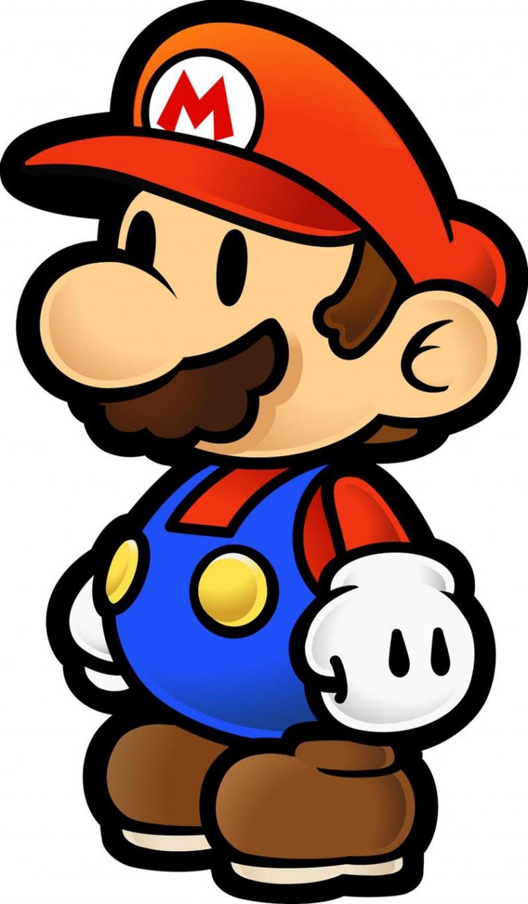 760x1300 Paper Mario New Artsy Fartsy Paper Mario, Mario