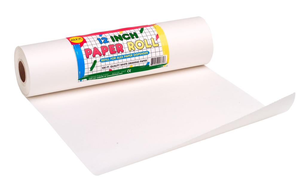 1024x626 Alex Toys Young Artist Studio Paper Roll Drawing Paper, White (12