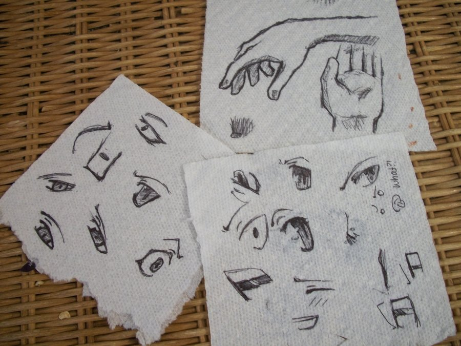 900x675 Paper Towel Drawings By Wet Flame
