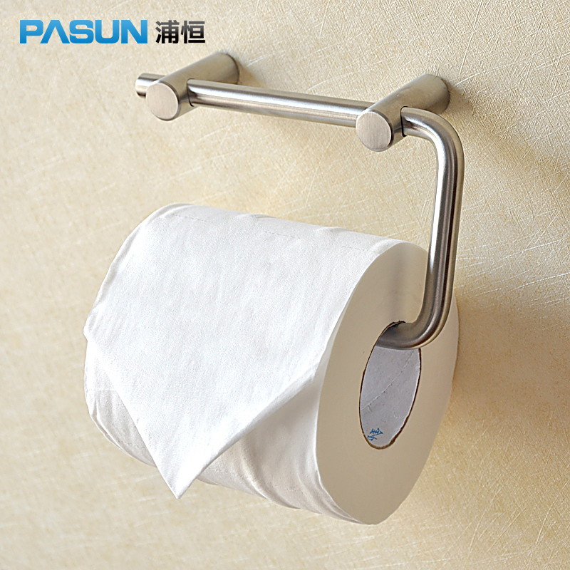 800x800 U Constant Pasun 304 Stainless Steel Wire Drawing Paper Towel Rack