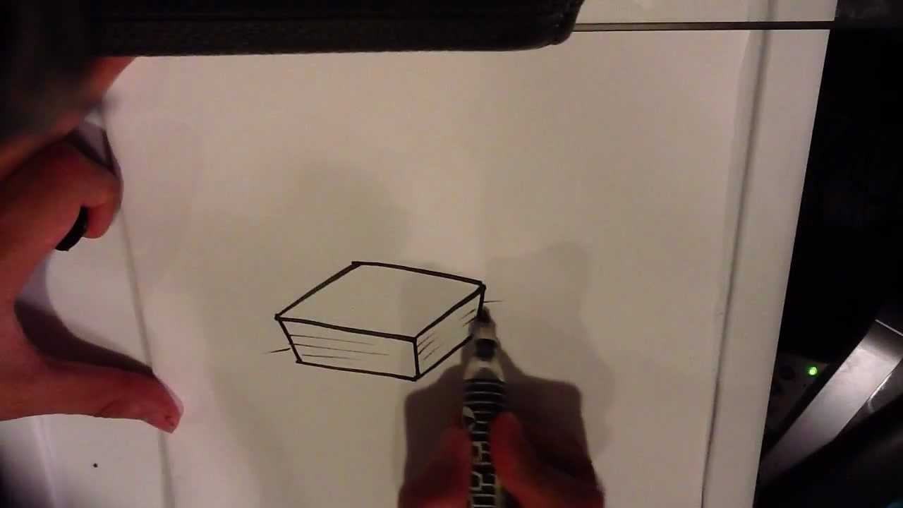 1280x720 How To Draw A Stack Of Papers