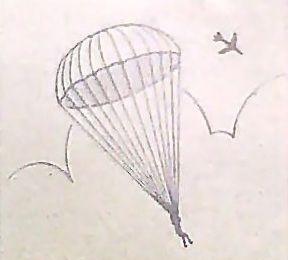 288x260 Parachute Drawing 123 Parachutes, Tattoo And Dad