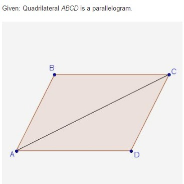367x366 Urgent Help Please! Proof Statement Reason 1. Quadrilateral Abcd