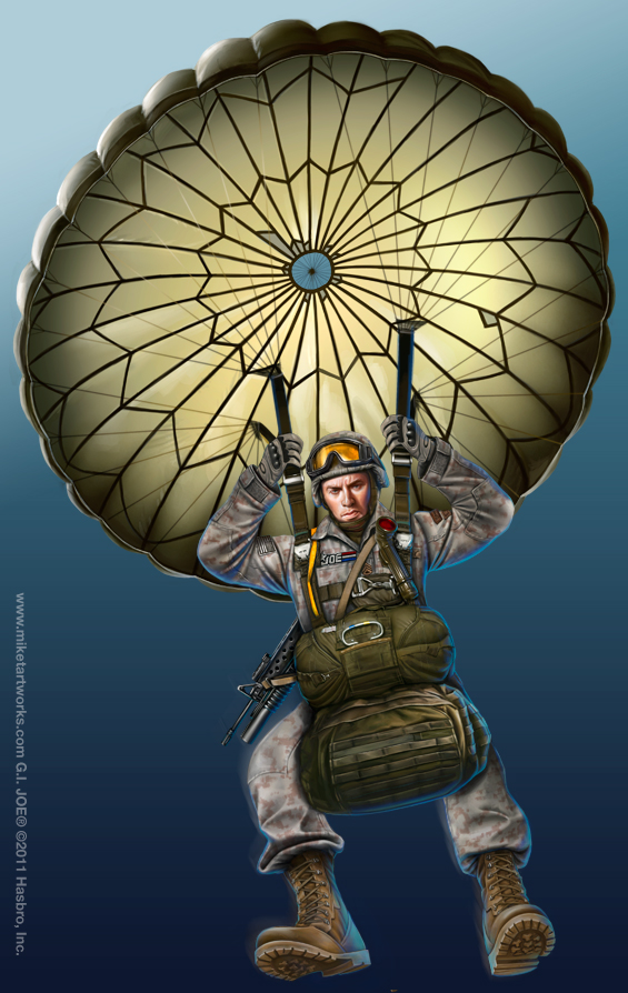 565x894 122211 New Joe Art Joe Paratrooper I Don'T Know How