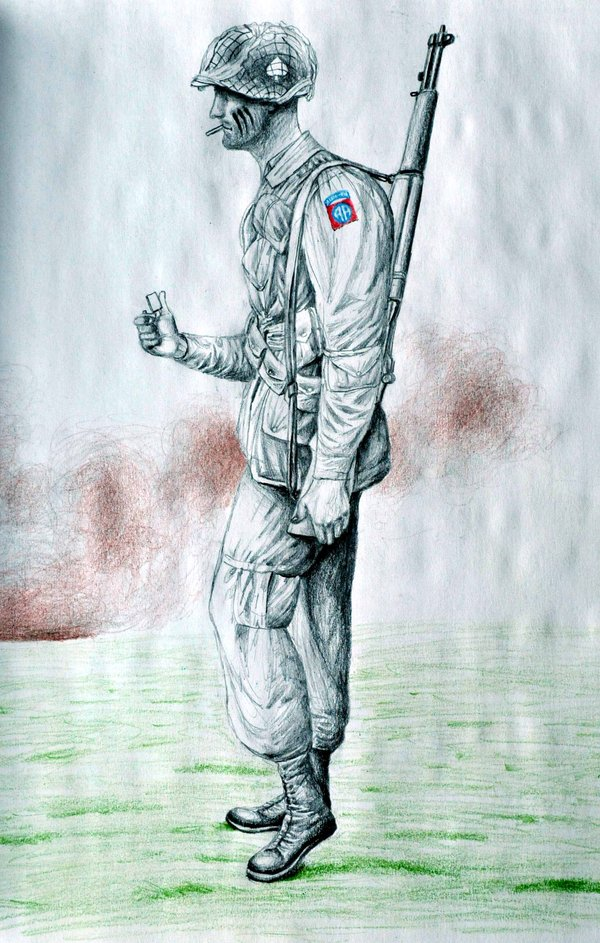 600x943 82nd Airborne Paratrooper By Chitlins And Grits
