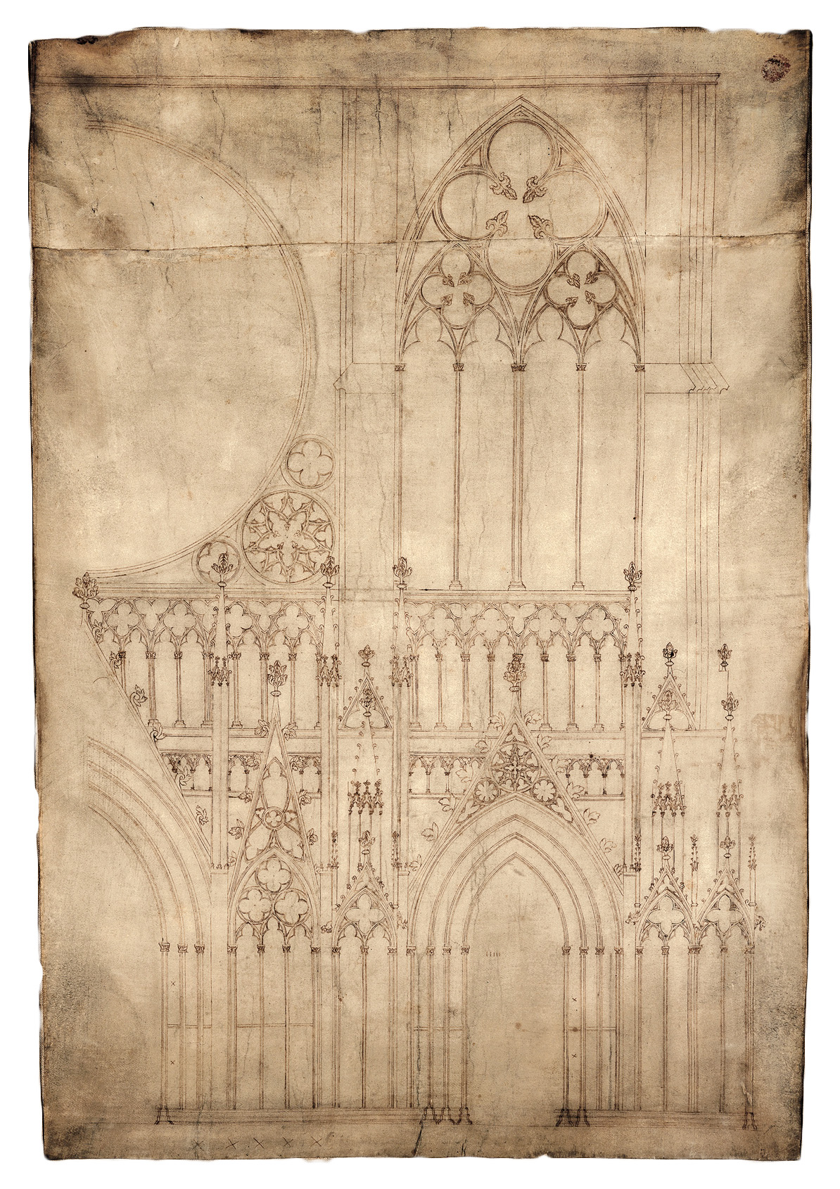 1194x1690 Of Strasbourg Cathedral Pen And Parchment