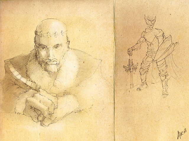 640x480 Parchment Drawings By Arthurk87