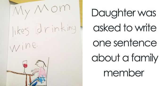 700x368 18 Times Kid Drawings Revealed Too Much About Their Parents