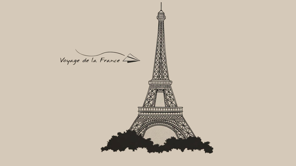 1024x576 Eiffel Tower Wallpaper 09 Paris, France Pinterest Tower And
