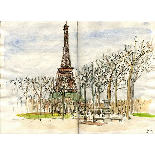 600x600 54 Best Paris Sketches Images On Water Colors, Art