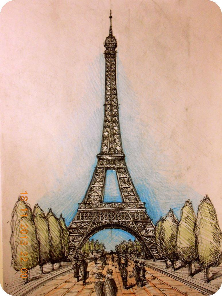 774x1032 Eiffel Tower Paris By Amandabloom